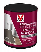 Краска для радиаторов Renovation Perfection V33 (DECOLAB) цвет Металлик