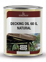 Датское масло Decking Oil 60% IL Natural Borma 4971-IL