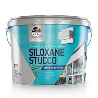 Декоративное покрытие Dufa Siloxane Stucco Силоксановая 20кг